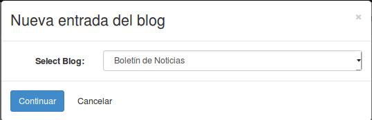 Crear un Blog con OpenErp 8.0 (Odoo)