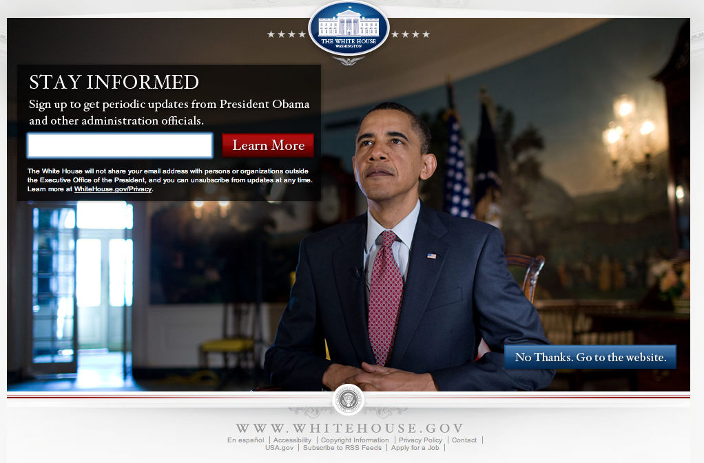 Whitehouse Website Drupal